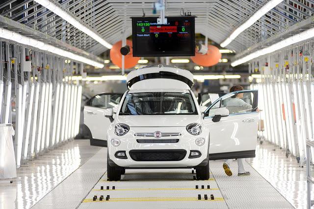Fiat fabriken investerar i LED